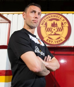 23/04/15  FIR PARK - MOTHERWELL  Motherwell's Scott McDonald previews his side's upcoming clash against Hamilton